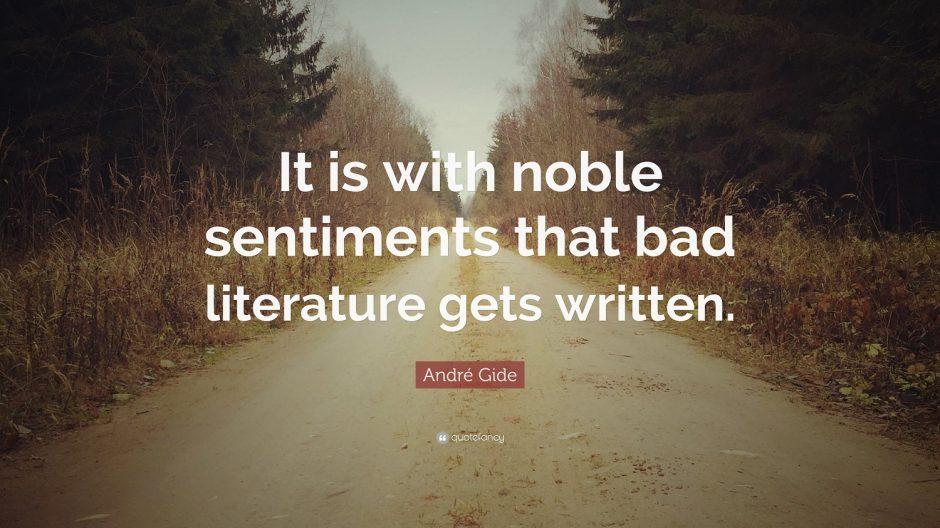 Literatura proasta