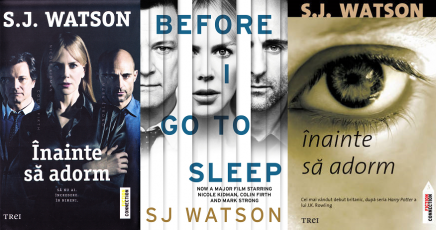 Inainte sa adorm (Before I go to sleep) - S.J. Watson