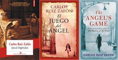 Jocul ingerului Cimitirul Cartilor Uitate volumul 2 - Carlos Ruiz Zafon