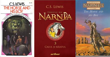 Cronicile din Narnia 3 Calul si baiatul - C.S. Lewis