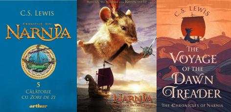 Cronicile din Narnia 5 Calatorie cu Zori de Zi - C.S. Lewis